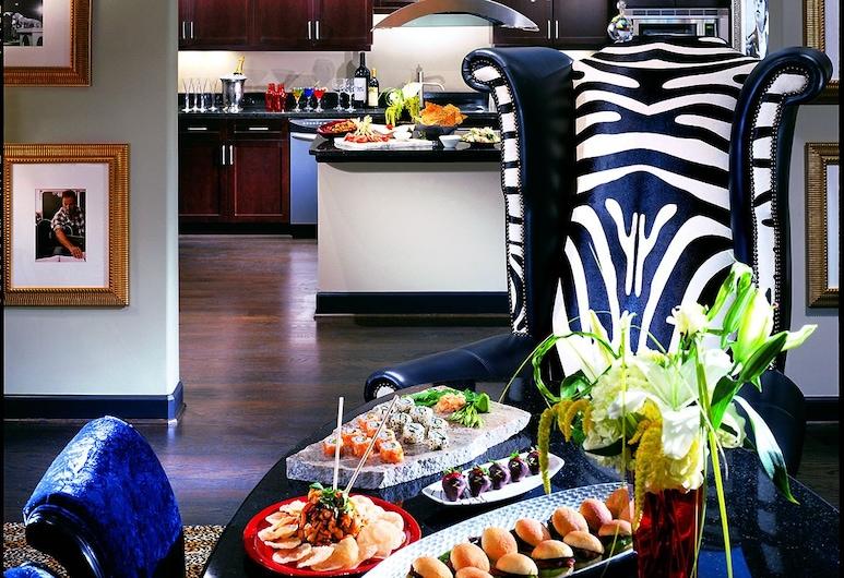Hotel ZaZa Dallas, Dallas, Suite Mewah, 1 Tempat Tidur King, Dapur Di Kamar