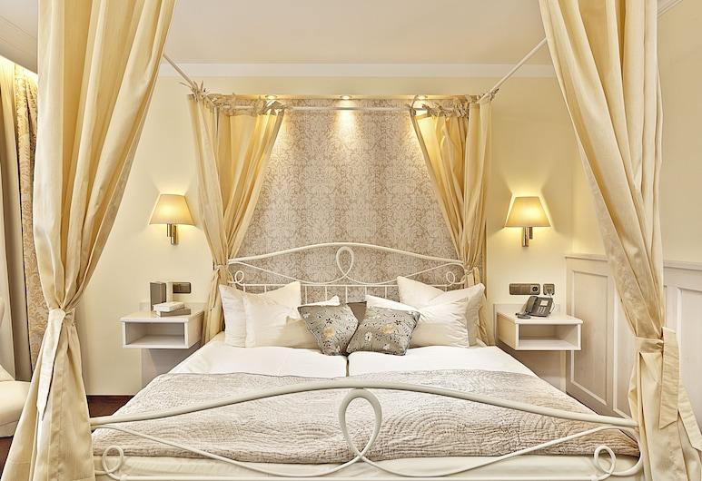 โรงแรมชลอสโครเนอ, Fuessen, ห้องคอมฟอร์ทดับเบิล (Sissi), ห้องพัก