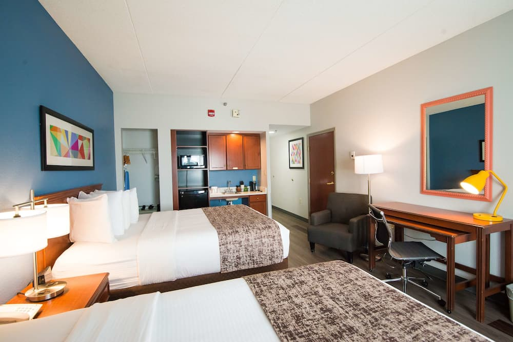 Standard Room, 2 Queen Beds, Accessible, Refrigerator & Microwave - Guest Room