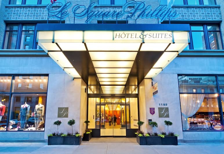 Le Square Phillips Hotel And Suites, Montreal, Hotel homlokzata