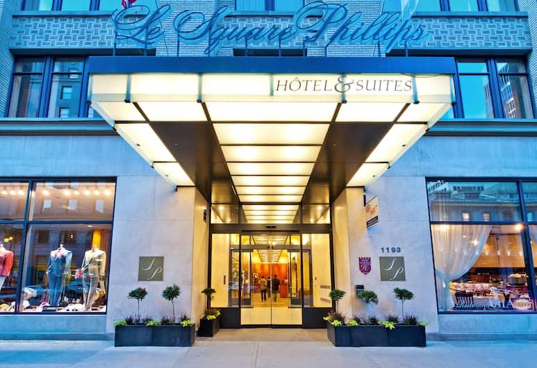Le Square Phillips Hotel And Suites, Monrealis, Viešbučio fasadas
