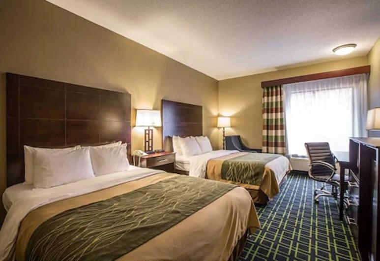 Comfort Inn Franklin, Franklin, Pokój standardowy, 2 łóżka queen, dla palących, Pokój