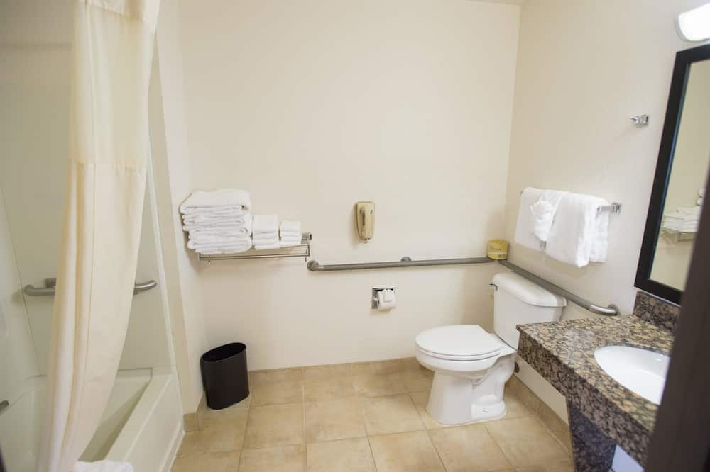 Suite, Letti multipli, accessibile ai disabili, vasca da bagno (with Sofabed) - Bagno