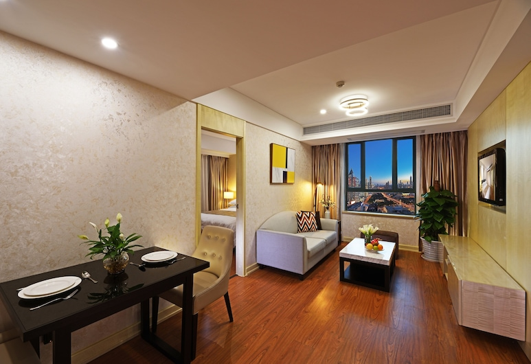 New Harbour Service Apartments, Shanghai, Elegant One Bedroom Apartment, Guest Room