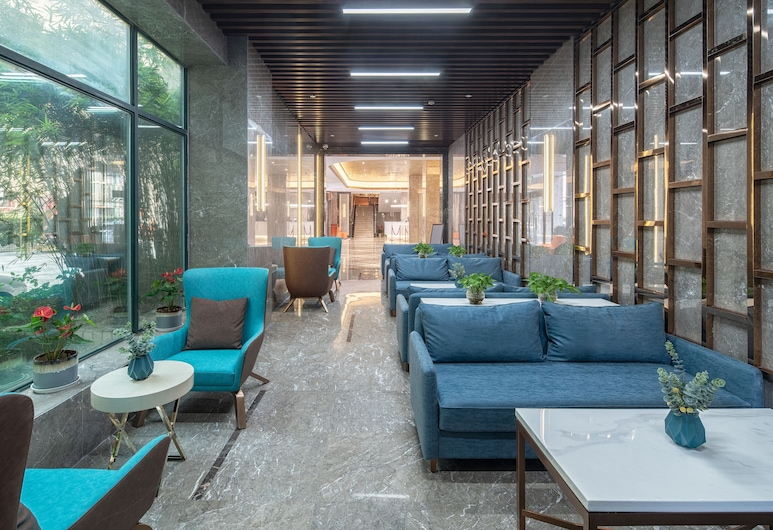 New Harbour Service Apartments, Shanghai, Lobby Sitting Area