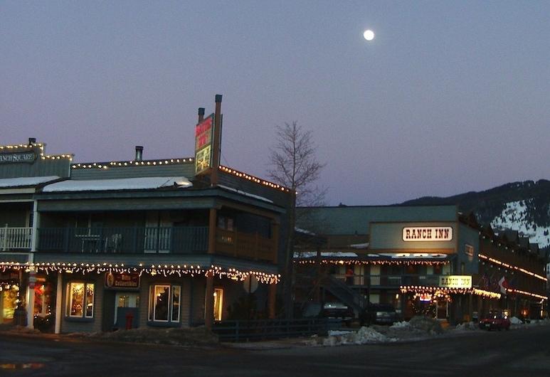 Ranch Inn, Jackson, Hotelfassade