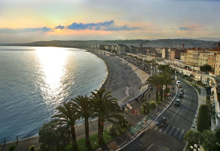 Hotel Lafayette, Nizza, Blick vom Hotel
