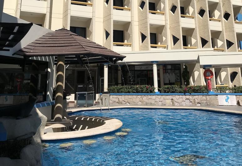 Olas Altas Inn Hotel & Spa, Mazatlán, Parte delantera del hotel