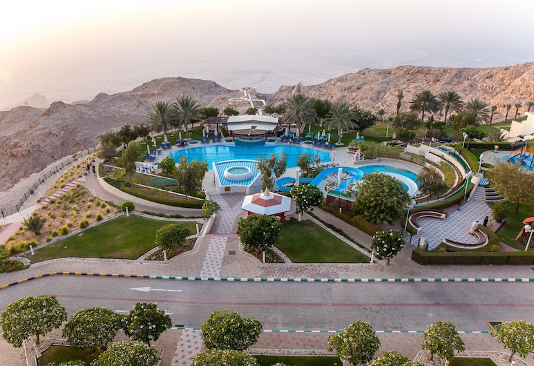 Mercure Grand Jebel Hafeet Al Ain Hotel, Al Ain, Superior Room, 2 Single Beds, Poolside, Balcony View