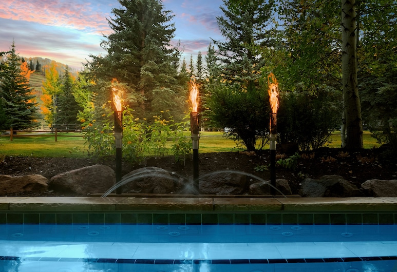Tivoli Lodge, Vail, Bañera de hidromasaje al aire libre
