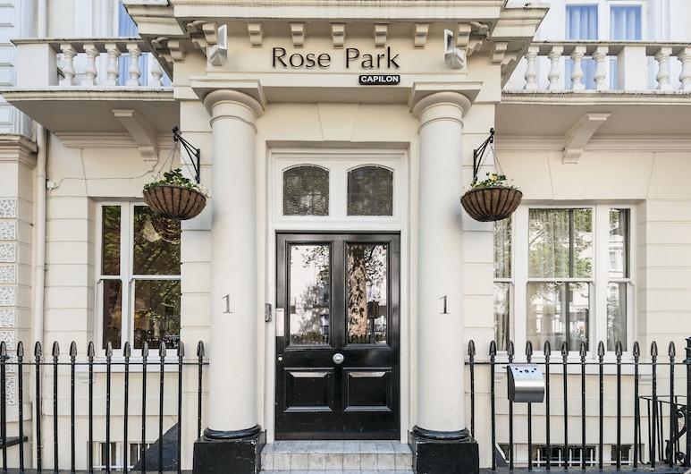 Rose Park Hotel, Londýn, Vchod do hotela