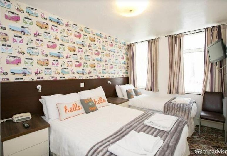 The Fairway, Blackpool, Habitación triple estándar, Habitación