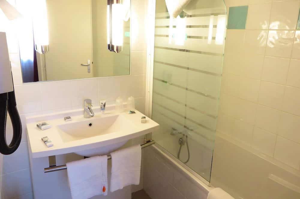 Superior-værelse - 1 kingsize-seng - Badeværelse