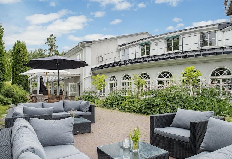 Blommenhof Hotel, Nykoping, Terrace/Patio