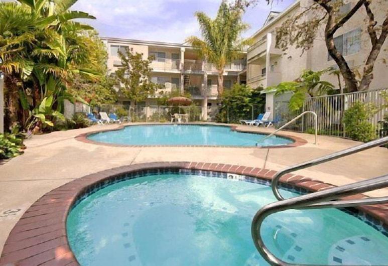 Hotel Buena Vista, סן לואיס אוביספו, אמבט ספא חיצוני