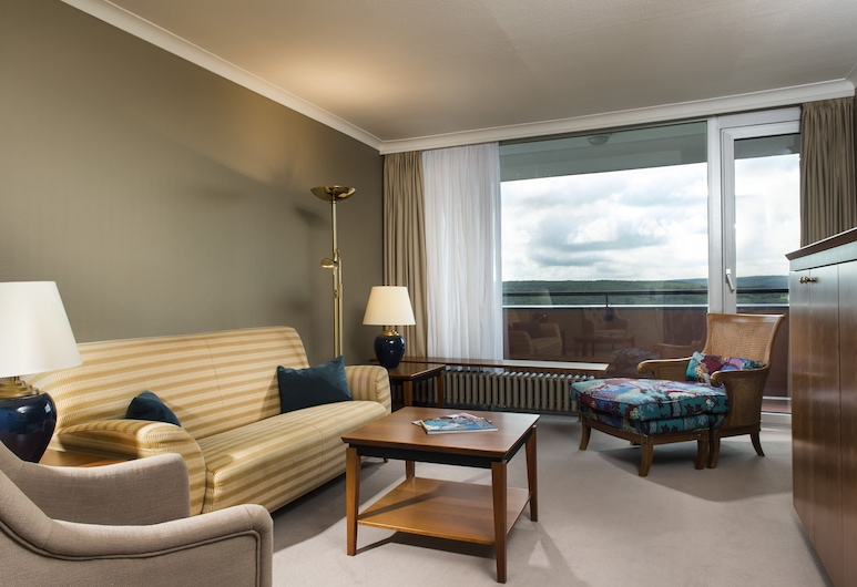 Wyndham Garden Lahnstein Koblenz, Lahnstein, Deluxe Suite, 1 Double Bed, Guest Room