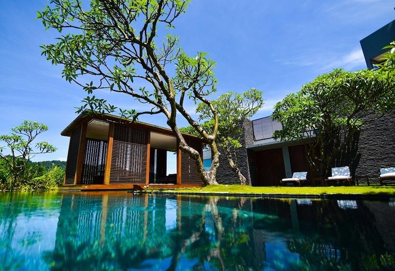 The Lalu, Sun Moon Lake, Yuchi, Villa, piscina privada, con vista al patio, Habitación