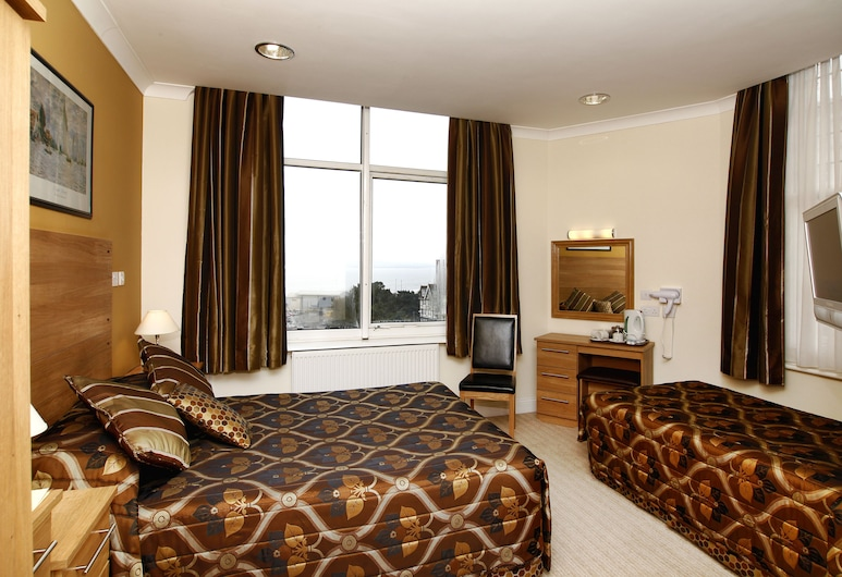 Russell Court Hotel, Bournemouth, Family Room, Guest Room