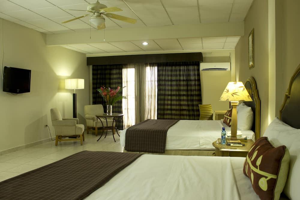 豪華雙人房, 1 間臥室 - 客廳