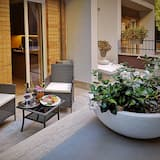 Căn hộ lãng mạn, 1 phòng ngủ, Bồn tắm nước nóng, Tầng trệt (Wellness Apartment) - Sân thượng/sân hiên