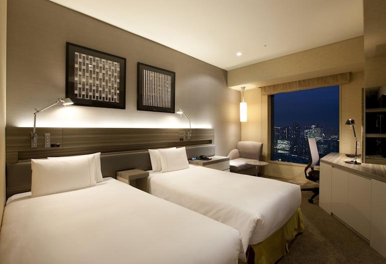 The Royal Park Hotel Iconic Tokyo Shiodome, Tokio, Habitación estándar con 2 camas individuales, Habitación