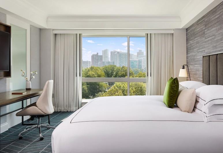Kimpton Marlowe Hotel, Cambridge, Deluxe-Zimmer, 1King-Bett, Ausblick, Zimmer