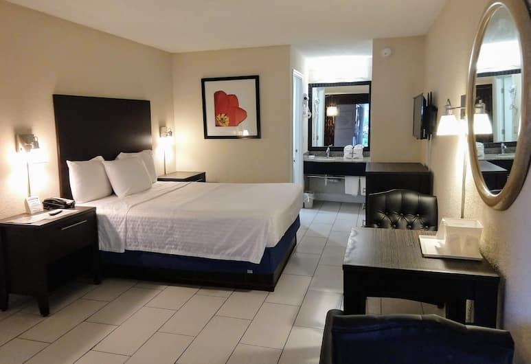 Red Carpet Inn Airport/Cruiseport, Fortloderdeila, Standarta numurs, 1 divguļamā karaļa gulta, nesmēķētājiem, Viesu numurs