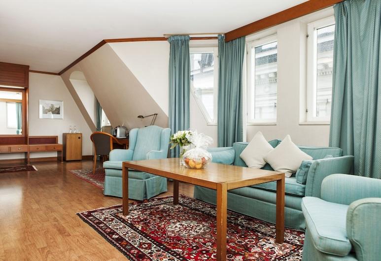 Elite Hotel Residens, Malmo, Pokój rodzinny, Powierzchnia mieszkalna