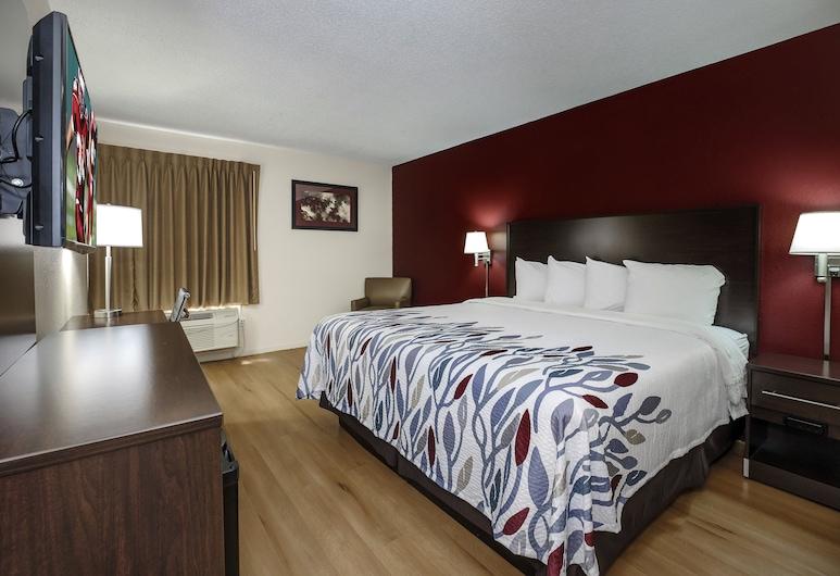 Red Roof Inn Hillsville, הילסוויל, חדר סופריור, מיטת קינג (Smoke Free), חדר אורחים