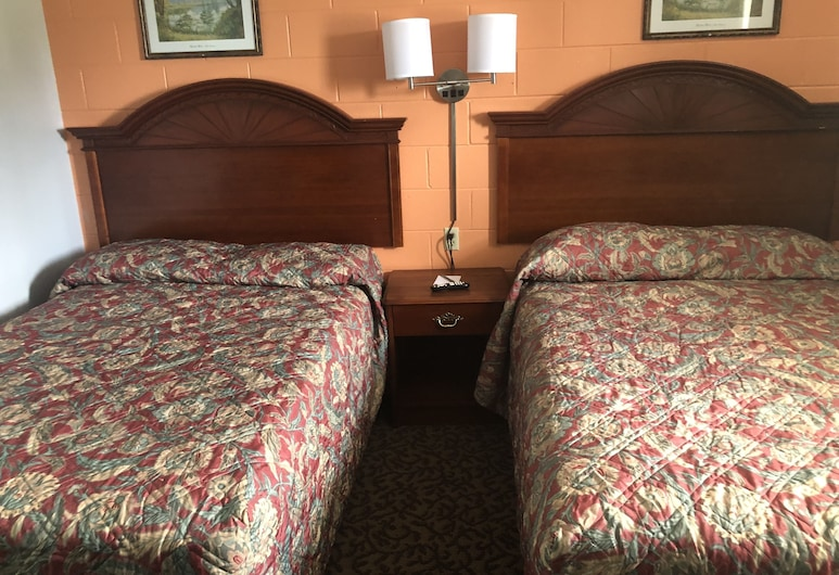 Economy Inn Crossville, Crossville, Non-Smoking Room, 2 Double Beds, Guest Room