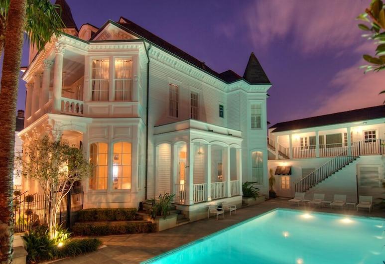 梅爾羅曼森酒店, 新奥爾良, 酒店入口 - 夜景
