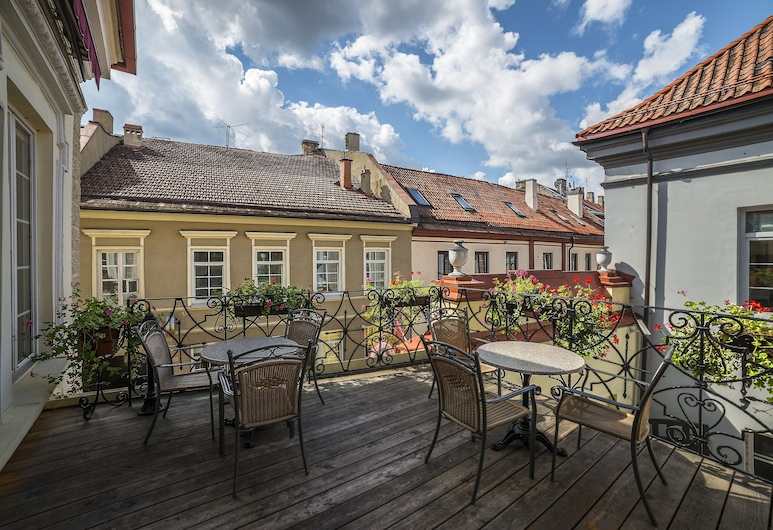 Shakespeare Boutique Hotel, Vilnius, Terrass