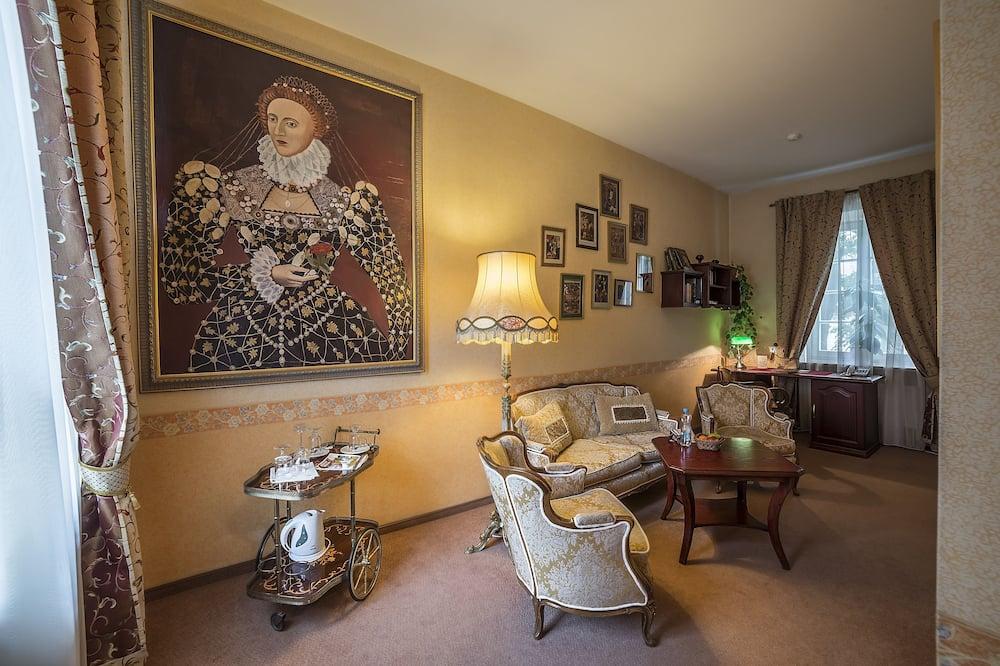 Luxusní pokoj s dvojlůžkem - Obývací prostor
