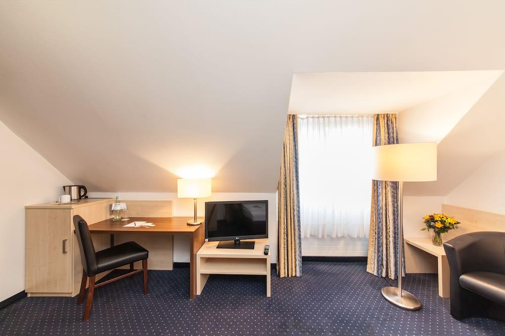 Habitación individual económica - Sala de estar