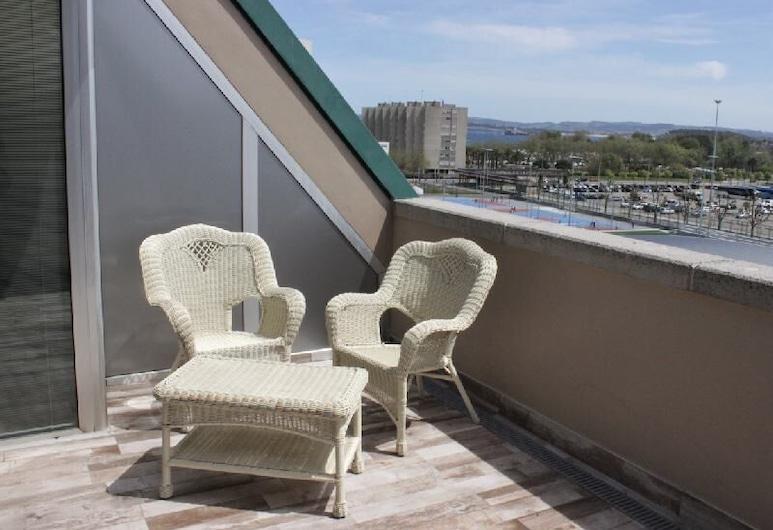 Hotel Sercotel Suite Palacio del Mar, Santander, Suite, Terrace/Patio