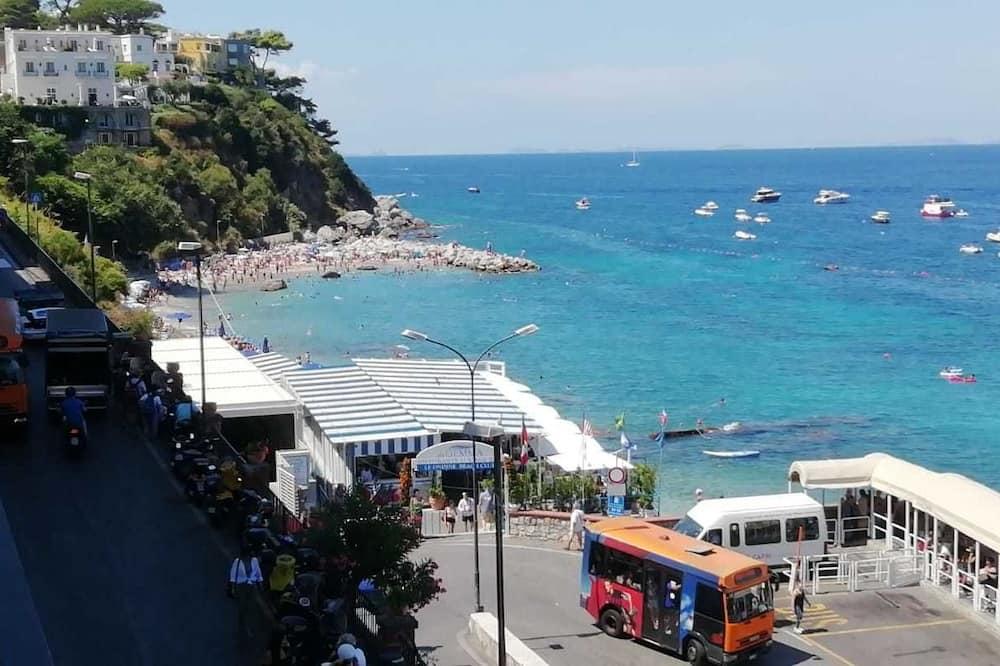Habitación superior, balcón, vistas al mar - Vistas a la playa o el mar
