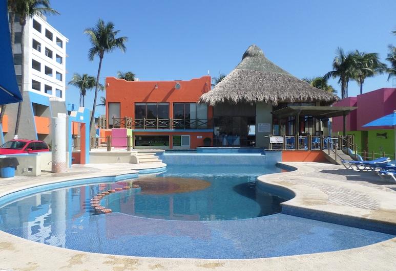 Hotel Suites Mediterraneo, Boca del Río, Außenpool