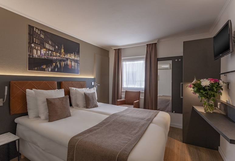 Hotel Avenue, Amsterdam, Standard Room, 1 Double or 2 Twin Beds, Guest Room