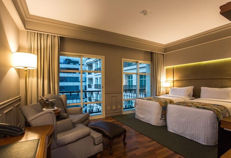 Gran Estanplaza Berrini, San Paulas, Standartinio tipo dvivietis kambarys (2 viengulės lovos), Svečių kambarys
