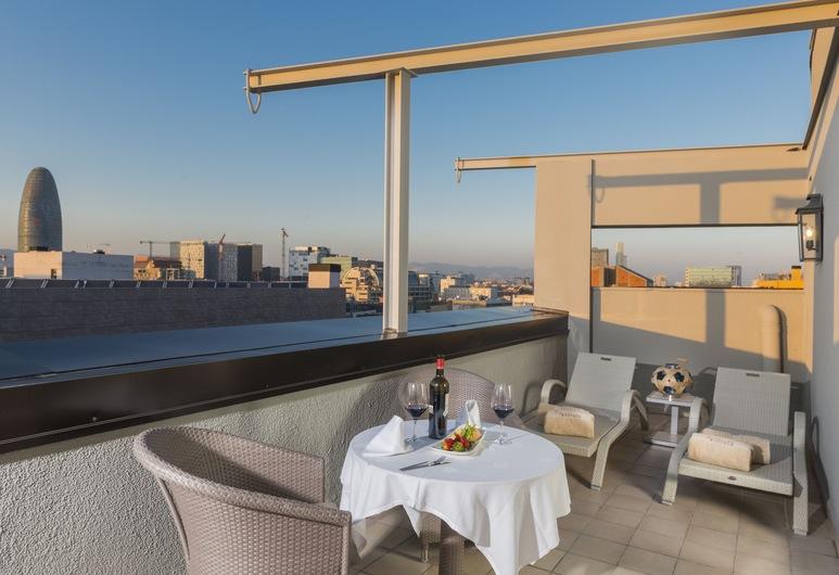Sallés Hotel Pere IV, Barcelona, Habitación doble Deluxe, terraza (Spa Access), Balcón