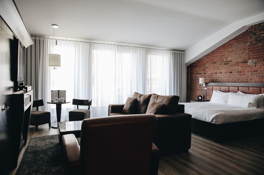 Junior suite, Balkon - Woonruimte