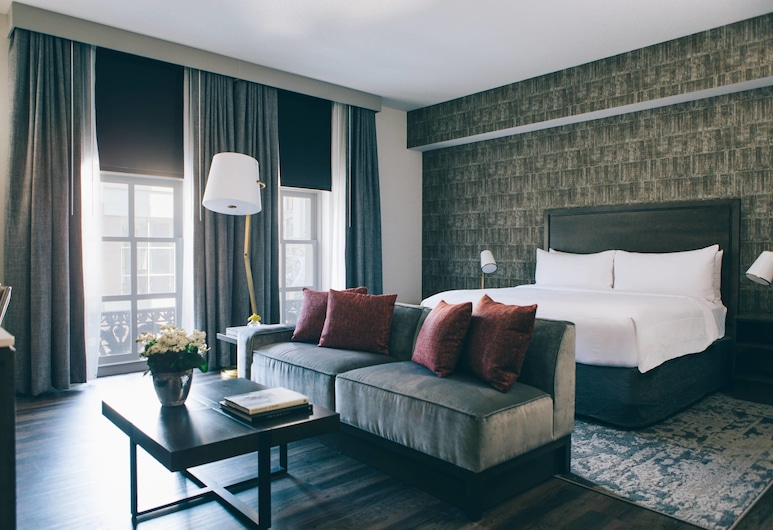 Marriott St. Louis Grand, St. Louis, Suite Executive, 1 letto king, Camera