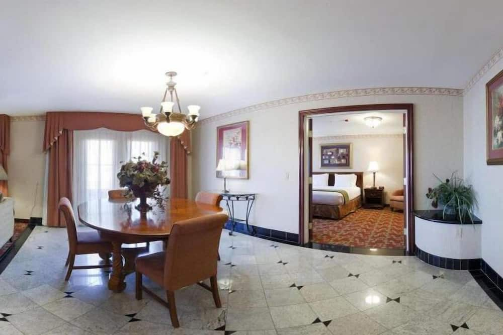 Predsjednički suite, 1 king size krevet, za nepušače - Dnevna soba