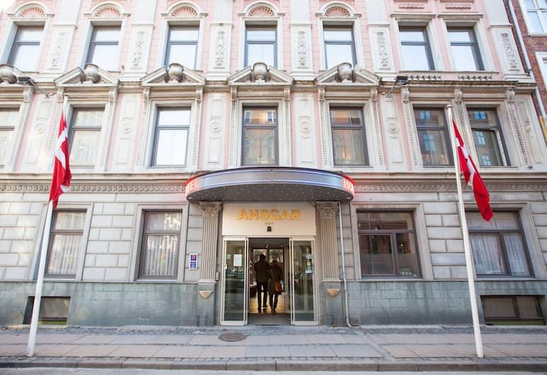 Hotel Ansgar, Kopenhaga, Fasada hotelu