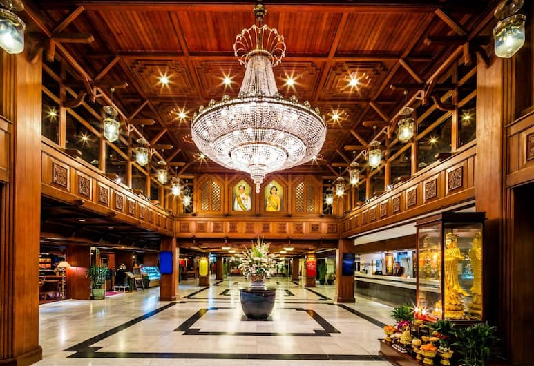 バンコク パレス ホテル, バンコク, ロビー