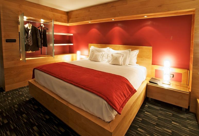 Hotel Real del Río, Tijuana, Deluxe-Suite, 1King-Bett, Raucher, Ausblick vom Zimmer