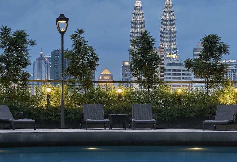 Sunway Putra Hotel, Kuala Lumpur, Pool Waterfall