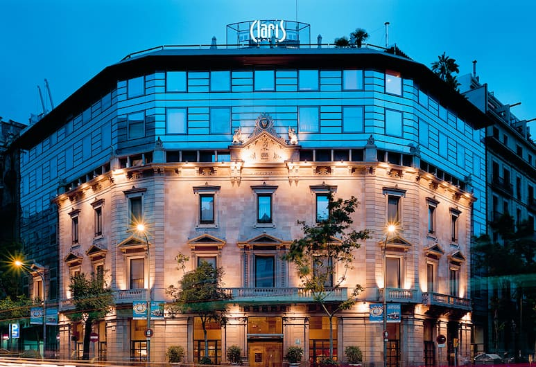Claris Hotel & Spa GL, Barcelona, Hotellets front