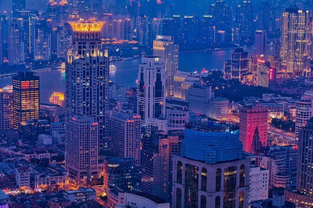 חדר קלאב, מיטת קינג, ללא עישון (Crown/Bund/SHA/China) - נוף לעיר