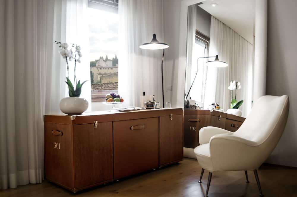 Superior-Doppelzimmer (Continentale) - Wohnbereich